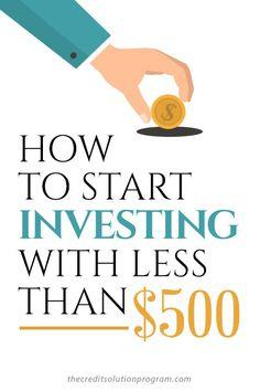 Save money by investing it